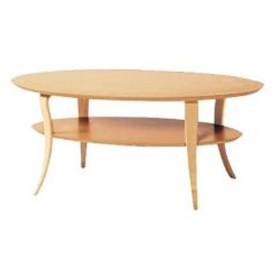 コーヒーテーブル NE ナチュラル( センターテーブル ローテーブル リビングテーブル 机 ガラステーブル  )