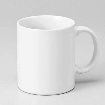 マグカップ 積み重ね可能 ホワイト/ 中マグ 乳白 /コーヒー ホットミルク ココア 贈り物 プレゼント