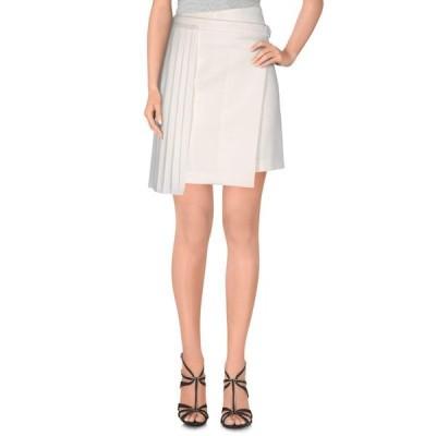 EDUN ミニスカート  レディースファッション  ボトムス  スカート  ロング、マキシ丈スカート ホワイト