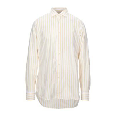 MCR シャツ ライトイエロー 42 コットン 100% シャツ