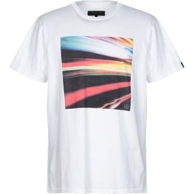 ラグ&ボーン RAG & BONE メンズ Tシャツ トップス t-shirt White