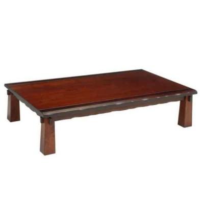 座卓 ローテーブル  135巾長方形 クラシックモダンタイプ 新和風座卓テーブル タモ突板 OOEDO135