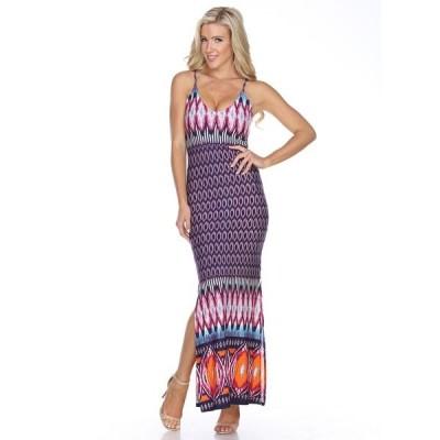 ホワイトマーク ワンピース トップス レディース Women's Nila Maxi Dress Purple