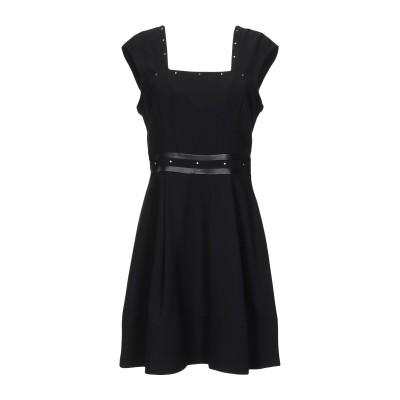 リュー ジョー LIU •JO ミニワンピース&ドレス ブラック 40 ポリエステル 100% / ポリウレタン樹脂 ミニワンピース&ドレス