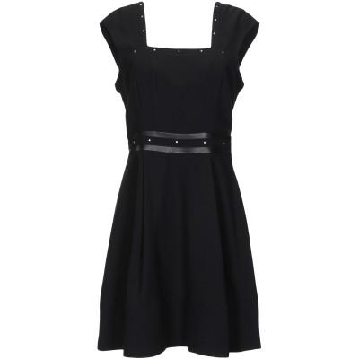 リュー ジョー LIU •JO ミニワンピース&ドレス ブラック 38 ポリエステル 100% / ポリウレタン樹脂 ミニワンピース&ドレス