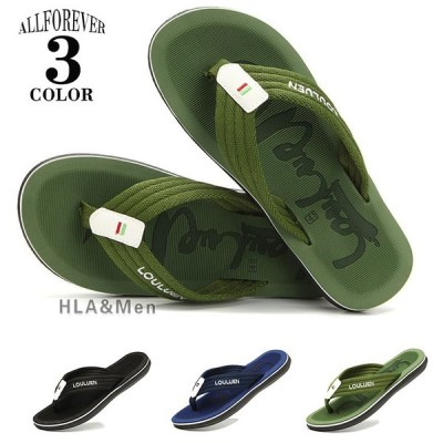 トングサンダル メンズ 靴 スリッパ サンダル 鼻緒サンダル ビーチサンダル ルーム ビーチ 海 プール メンズ靴