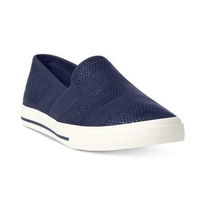 ラルフローレン スニーカー シューズ レディース Jinny Slip-On Sneakers Navy