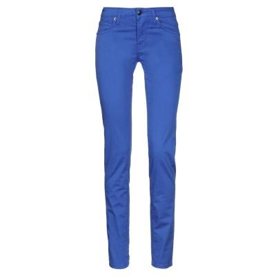 ロイ ロジャース ROŸ ROGER'S パンツ ブライトブルー 25 コットン 96% / ポリウレタン 4% パンツ
