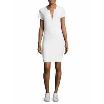 ジェームズパース レディース ワンピース Solid Henley Dress