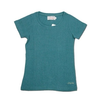 A HOPE HEMP (アホープヘンプ) WOMEN'S S/S TEE ヘンプコットン ショートスリーブTシャツ  / RAIN FOREST
