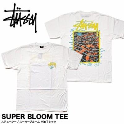 STUSSY ステューシー 1904550 メンズ 半袖Tシャツ MENS Super Bloom TEE(メール便対応)
