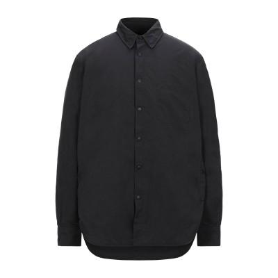 アスペジ ASPESI シャツ ブラック XS ポリエステル 65% / ナイロン 35% シャツ