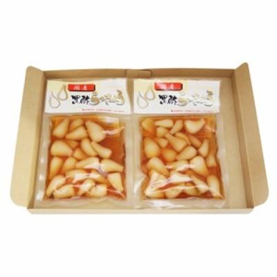 (メール便で送料無料) 森田製菓 黒酢らっきょう 120g 2コ入り メール便