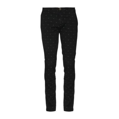 YAN SIMMON パンツ ブラック 46 コットン 93% / ポリエステル 5% / ポリウレタン 2% パンツ