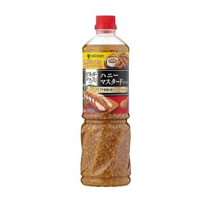 ミツカン ビネガーシェフ ハニーマスタードソース 1070g ソース 調味料 調理酢 具入り 業務用