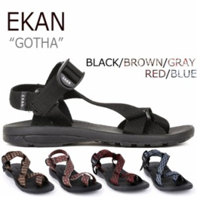 エカン サンダル スポサン EKAN メンズ レディース GOTHA ゴータ 5色 EKAN-2101 シューズ