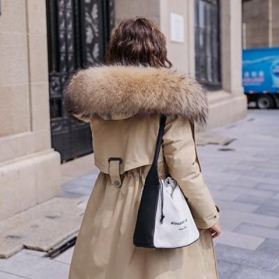 トレンチコート コート レディース ロング丈 暖かいダウン風ジャケット 帽子 キルティング 厚手 防寒 あったか アウター お しゃれ