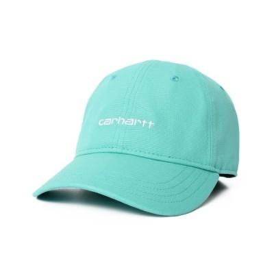 OVERRIDE / 【Carhartt】CANVAS SCRIPT CAP / 【カーハート】キャンバス スクリプト キャップ オーバーライド MEN 帽子 > キャップ