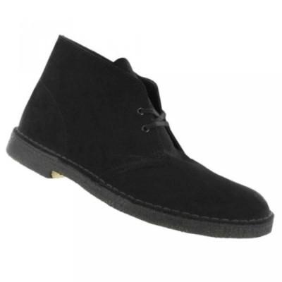 クラークス メンズ ブーツ Clarks Originals Men's Desert Boot 11 Black