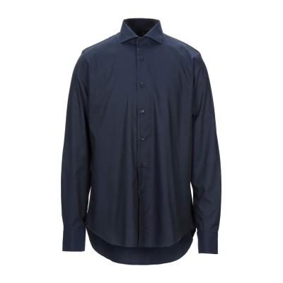ALEA シャツ ダークブルー 42 コットン 100% シャツ