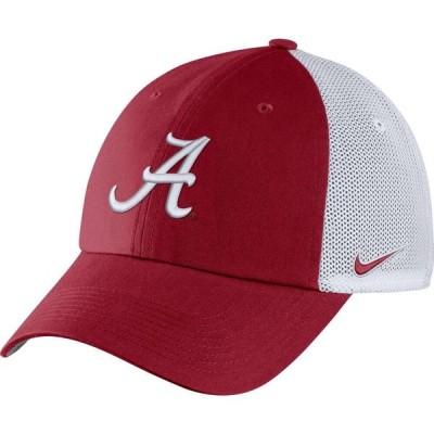 ナイキ Nike メンズ キャップ 帽子 Alabama Crimson Tide Crimson Heritage86 Logo Hat