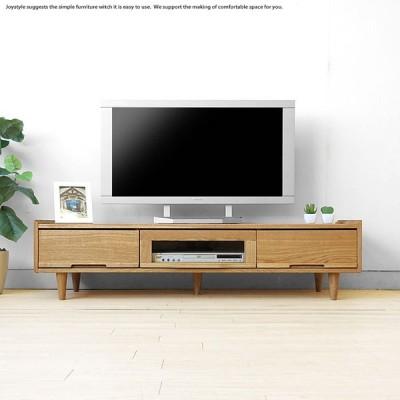 テレビ台 北欧 幅140cm 北欧テイスト ルンバ通ります 丸脚 テレビボード