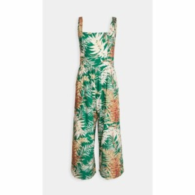 カラ カラ Cara Cara レディース オールインワン ジャンプスーツ ワンピース・ドレス Innisfree Jumpsuit Fern Green