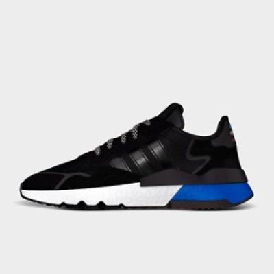 アディダス メンズ adidas Originals Nite Jogger オリジナルス スニーカー Core Black/Core Black/Lush Blue