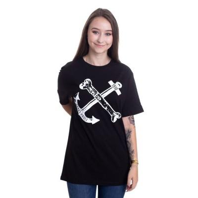 インペリコン Impericon レディース Tシャツ トップス - Anker - T-Shirt black