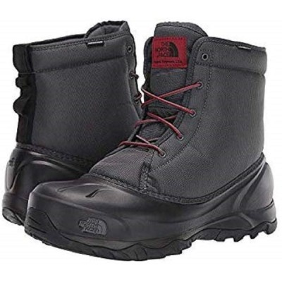 THE NORTH FACE (ザ・ノースフェイス) US9/27.0cm Tsumoru Waterproof Boot Zinc Grey/TNF Black ツモル ブーツ  [並行輸入品]