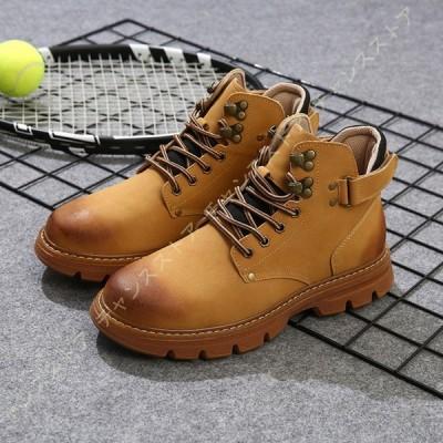 チャッカブーツ メンズ レザーブーツ デザートブーツ カジュアルブーツ 靴 ショートブーツ ビジネスシューズ 革靴 メンズ ブーツ 黒 紳士靴 紐靴 厚底靴