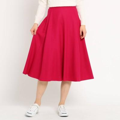 Dessin(Ladies)(デッサン:レディース)/【後ろウエストゴム】Aラインフレアミディ丈スカート