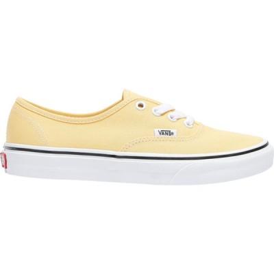 ヴァンズ Vans レディース スニーカー シューズ・靴 authentic Golden Haze/True White