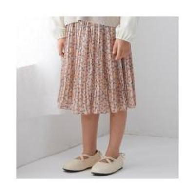 エフオーオンラインストア花柄プリーツスカート【お取り寄せ商品】