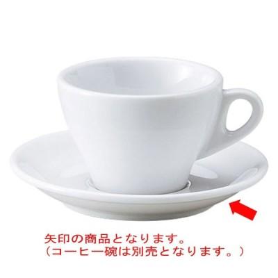 洋陶器 オープン/プリート 兼用受皿 [D13.7 x 2.2cm] 特白磁 料亭 旅館 和食器 飲食店 業務用