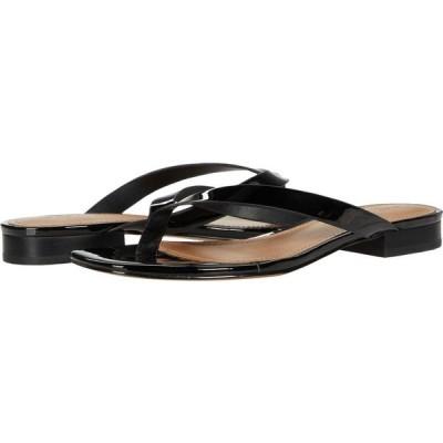 フー ワット ウェアー Who What Wear レディース ビーチサンダル シューズ・靴 Cali Black