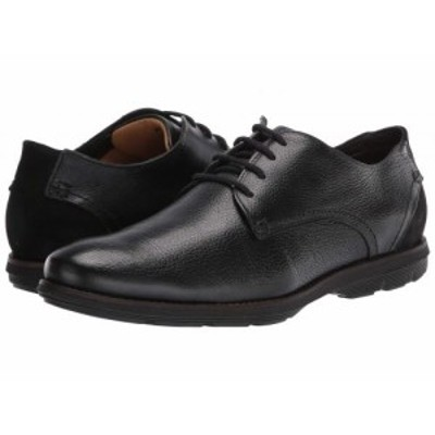 Massimo Matteo マッシオマッテオ メンズ 男性用 シューズ 靴 オックスフォード 紳士靴 通勤靴 Comfort Lace-Up Black【送料無料】