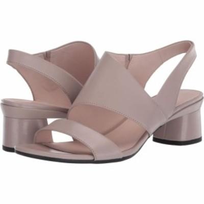 エコー ECCO レディース サンダル・ミュール シューズ・靴 Elevate 45 Block Sandal Grey Rose Calf Leather