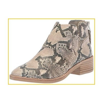 Dolce Vita Women's Titus Ankle Boot, Snake Print Embossed Leather, 6.5 M US
