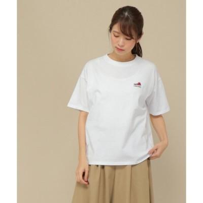 tシャツ Tシャツ CONVERSE シューズ刺繍ロゴTシャツ