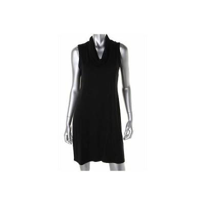 ドレス ワンピース Eileen Fisher Eileen Fisher 7655 レディース Jersey Cowl Neck ノースリーブ Wear to Work ドレス BHFO