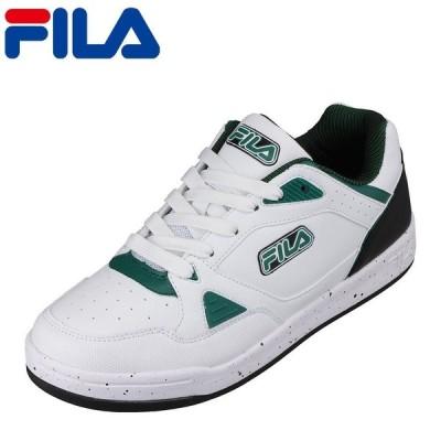 フィラ FILA FC-4214 メンズ   スニーカー   大きいサイズ対応   軽量 軽い   通気性 快適   ホワイト×グリーン