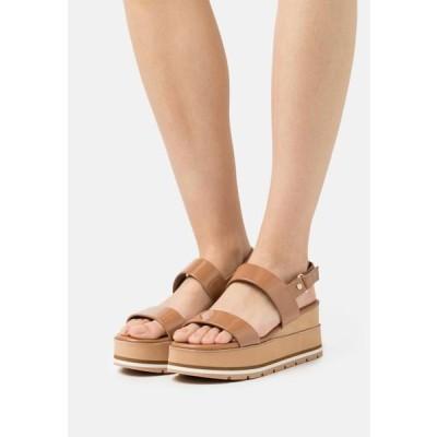 アルド レディース 靴 シューズ ONALISA - Platform sandals - light brown