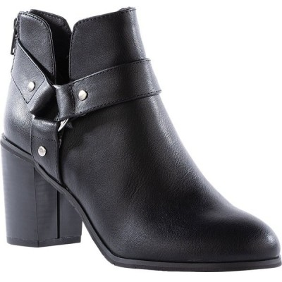BCフットウェア レディース ブーツ・レインブーツ シューズ Miss Independent Harness Ankle Bootie