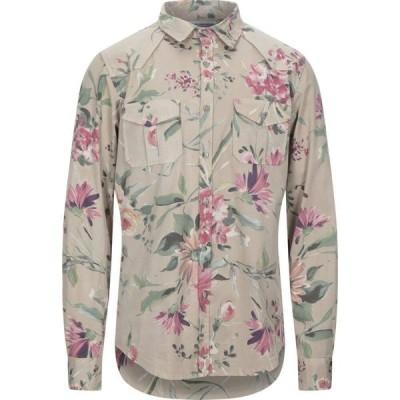 エン アヴァンセ EN AVANCE メンズ シャツ トップス patterned shirt Beige