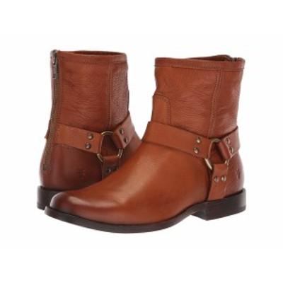 フライ レディース ブーツ&レインブーツ シューズ Phillip Harness Short Whiskey Soft Vintage Leather