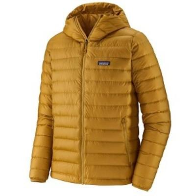 パタゴニア メンズ ジャケット・ブルゾン アウター Patagonia Down Sweater Hoodie Buckwheat Gold