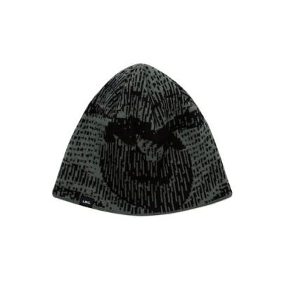 WANT SLIP / 【LMC】D-NOISE GRAPHIC BEANIE / ノイズ グラフィック ビーニー MEN 帽子 > ニットキャップ/ビーニー