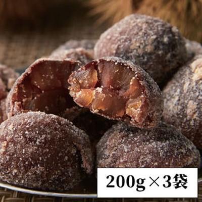 【200g×3袋】<割れ>渋栗甘納豆