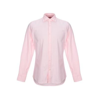 CALIBAN 820 シャツ ピンク 42 コットン 100% シャツ